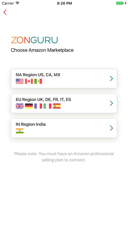 Zonguru Seller App screenshot-3