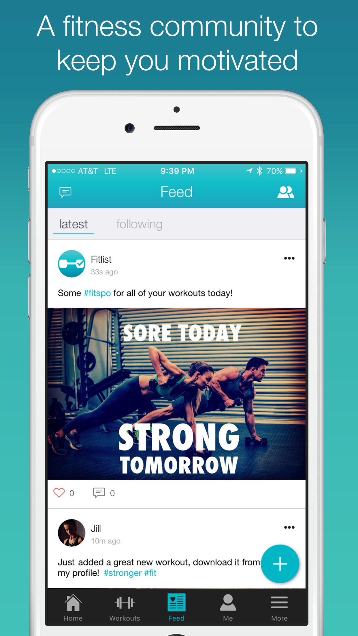 Fitlist - Gym Workout Log Screenshot