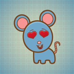 Sticker Me Lovely Mouse