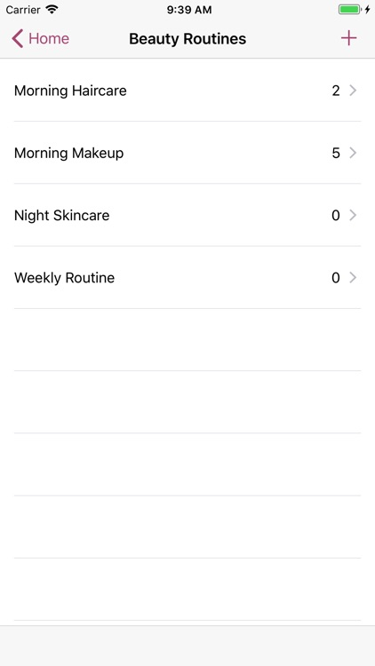 myBeautyCache Makeup Organizer screenshot-3