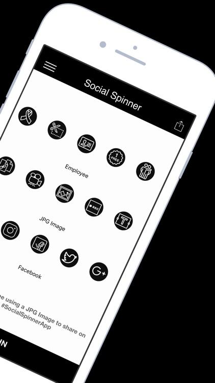 Social Spinner: Marketing