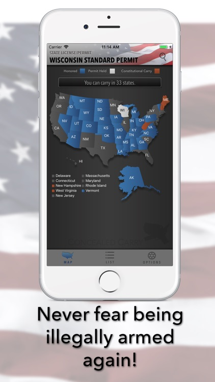 Concealed Carry App - CCW Laws screenshot-0