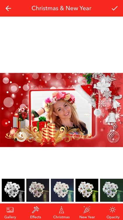 Christmas & New Year Photos screenshot-3