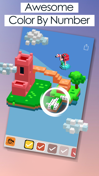 Block Art: 3D Color by Numbers Screenshot