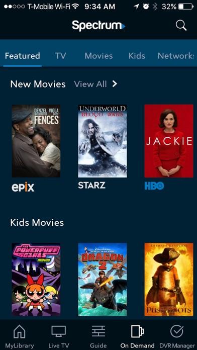 Spectrum TV app image