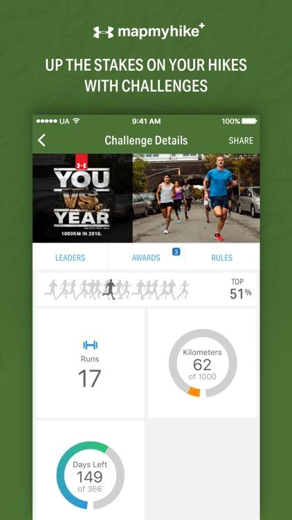 Map My Hike+ - GPS Hiking Tracker & Trail Finder screenshot-4