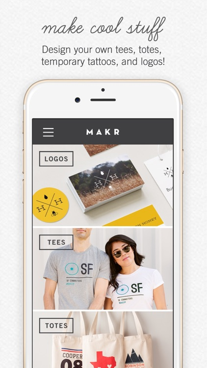 Makr: Custom Design & Logos screenshot-0