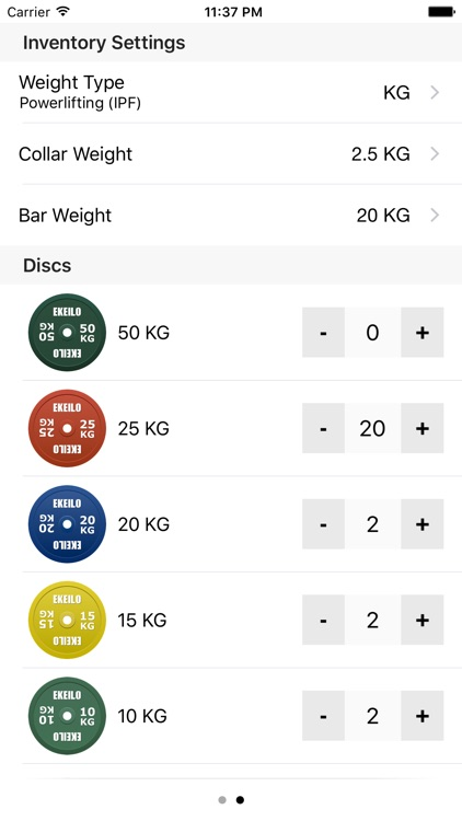 Pocket Barbell Calculator
