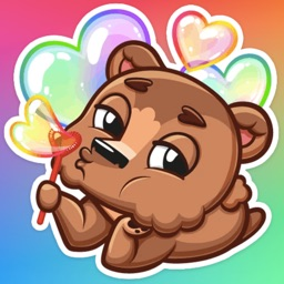 Brownie Bear Stickers