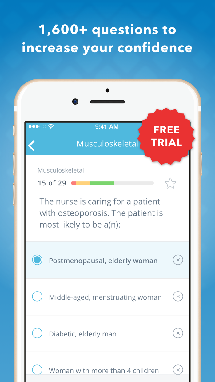 NCLEX PN Mastery Screenshot