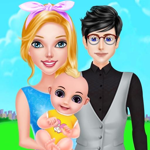 mom newborn baby boom