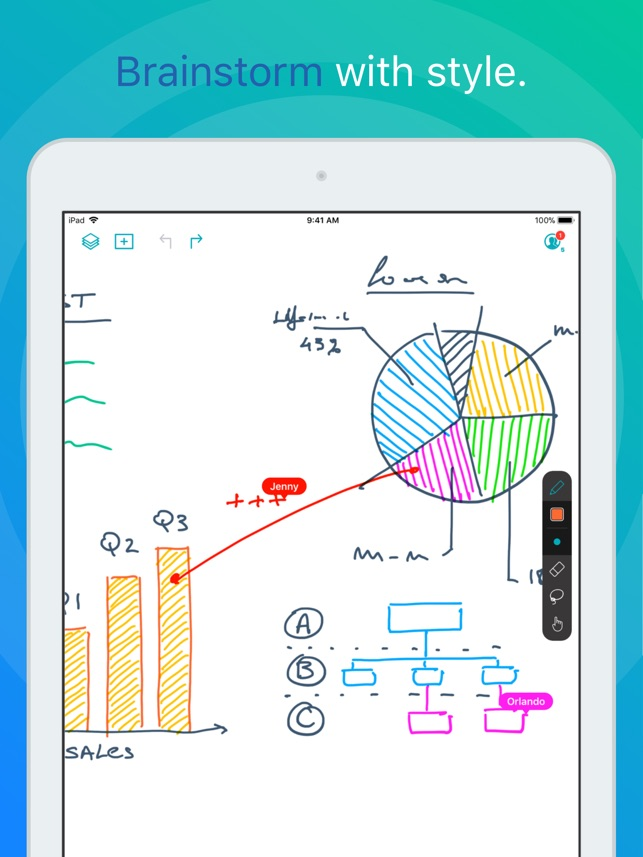 Creaceed unveils Inko - A Collaborative Whiteboard for iPad, Apple TV Image