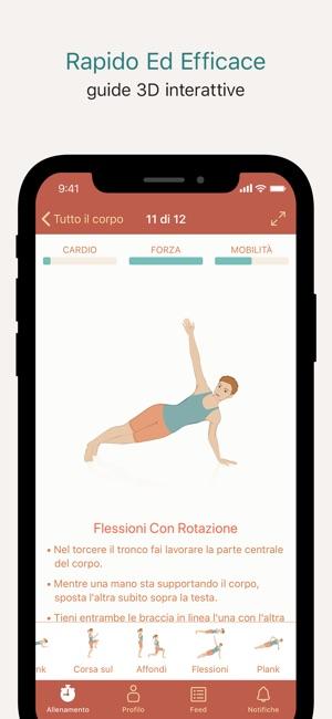 Seven - 7 minuti di esercizi Screenshot