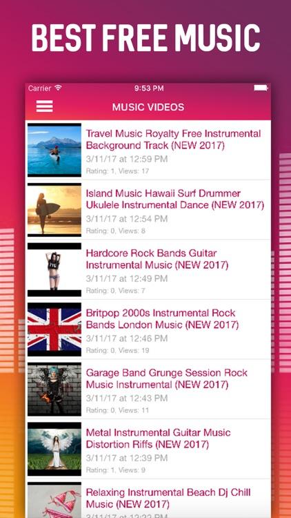 MUZZIQ - Video Music, News & Sticker App