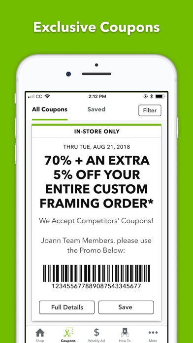 JOANN - Crafts & Coupons - Revenue & Download estimates