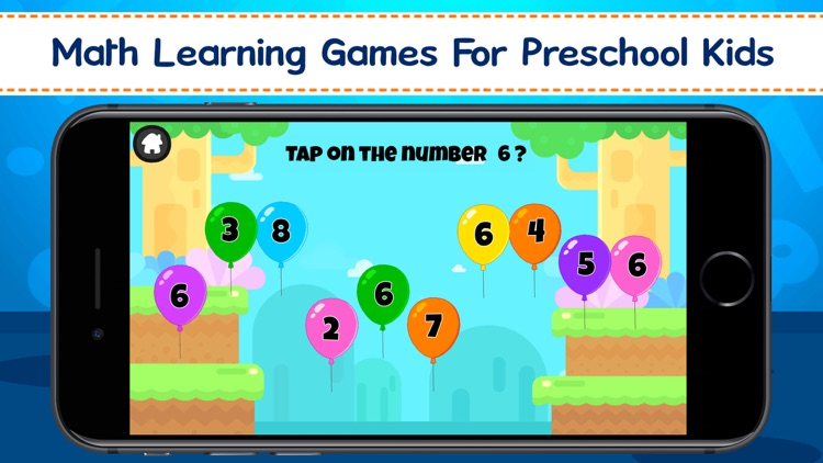 Preschool Math For Kids screenshot-0