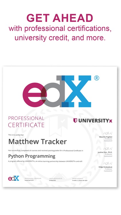 edX: Learn with Online Courses screenshot-5
