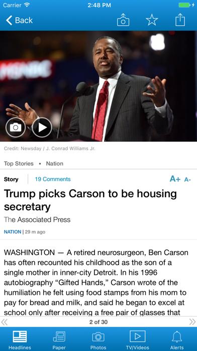 Newsday Screenshot