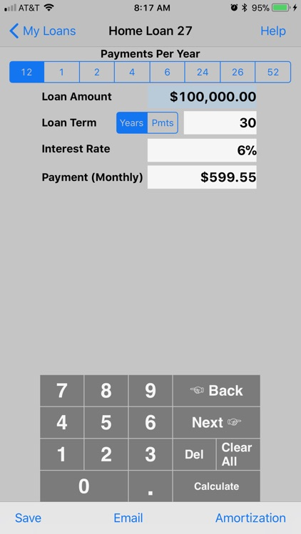 Bighorn Loan Calculator
