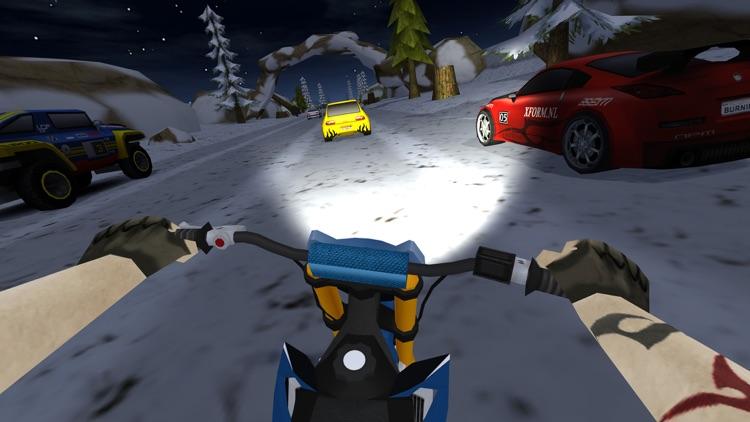Dirt Bike Racing Rally Traffic screenshot-3