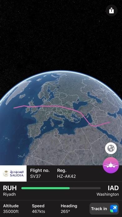 Plane Finder 3D screenshot 2