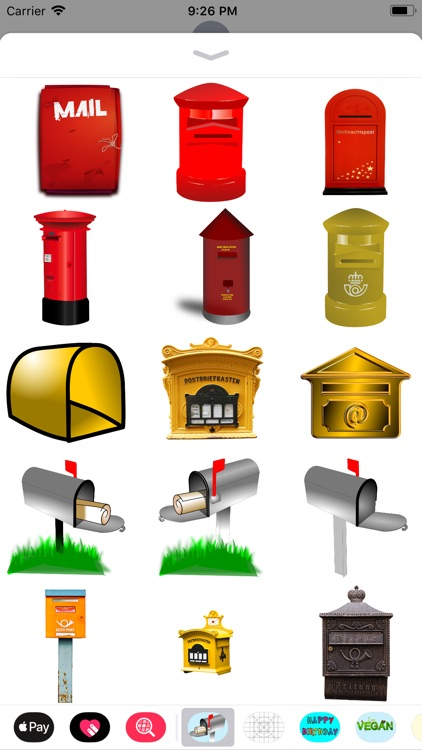 Mailbox Stickers screenshot-0