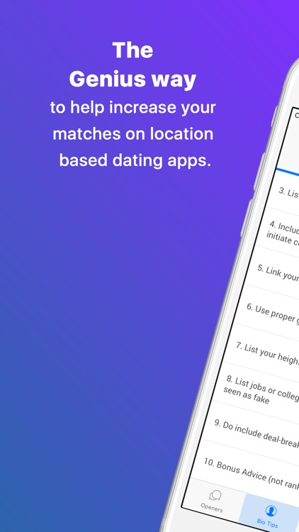 Dating Apps Genius - Using science for matches