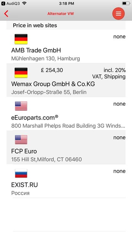 AutoParts  Audi  Q5 screenshot-4