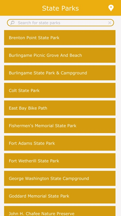 Rhode Island State Parks Guide