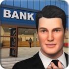 城市银行经理和出纳3D icon