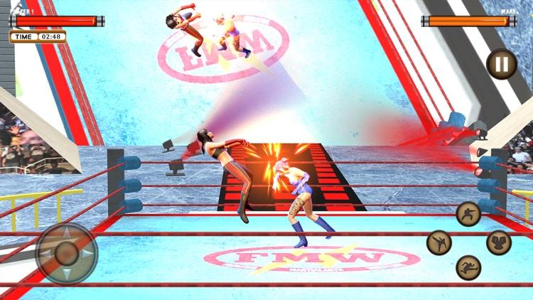 Girl Wrestling Superstar War