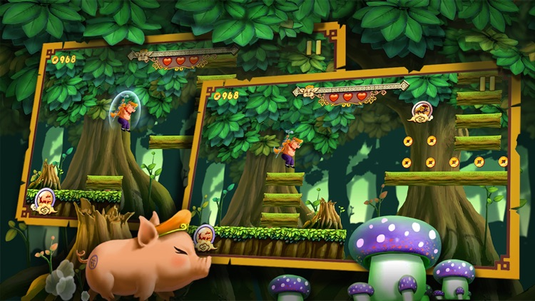 Kungfu Pigsy - endless runner screenshot-3