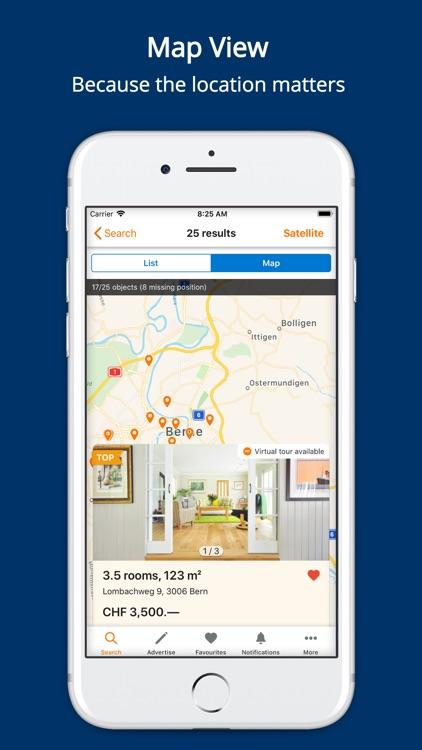 ImmoScout24 Switzerland screenshot-0