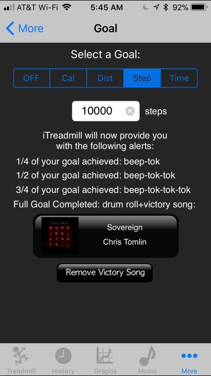 iTreadmill Pedometer screenshot-2