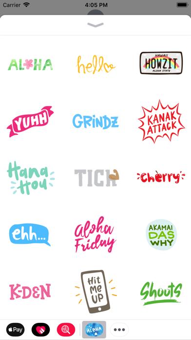 Aloha Sticker PackScreenshot of 1