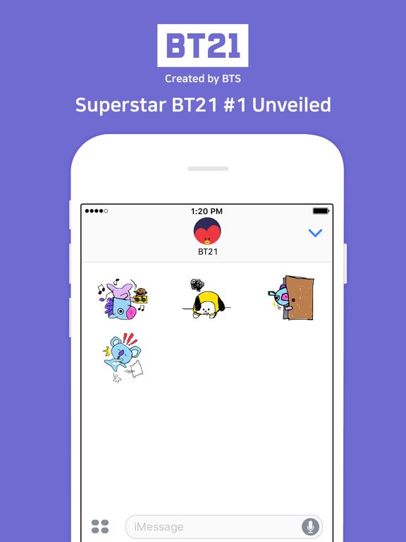 Superstar BT21 #1 Unveiled Скриншоты6