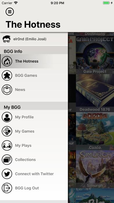 BGG BoardGames Information screenshot two