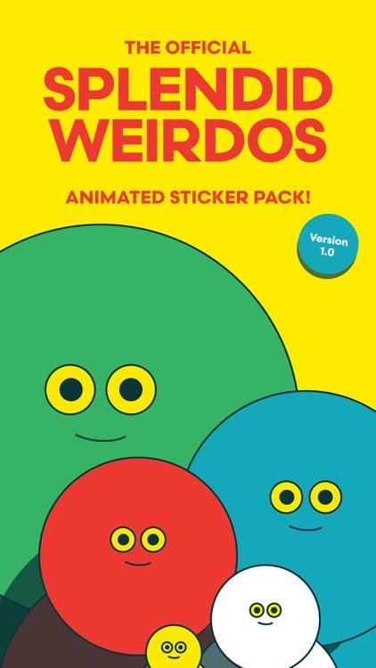 Splendid Weirdos - Animated Stickers