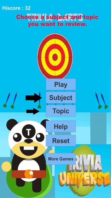 Trivia Darts screenshot 1
