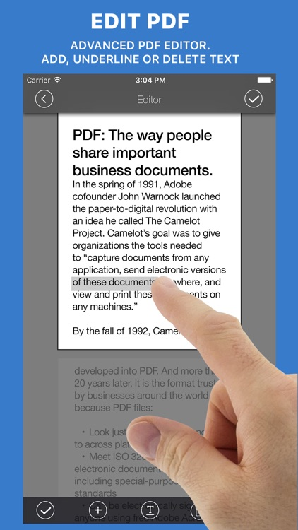 Documents Reader+files browser screenshot-3
