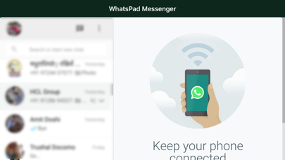Herunterladen Messenger for WhatsApp WebApp für Pc