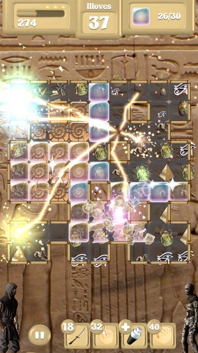 Assassin Vs Mummies - Match 3 screenshot two