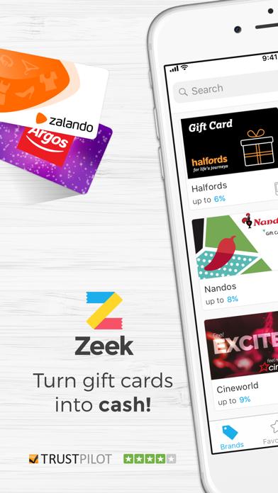 Zeek: Buy & Sell Gift Cards screenshot one