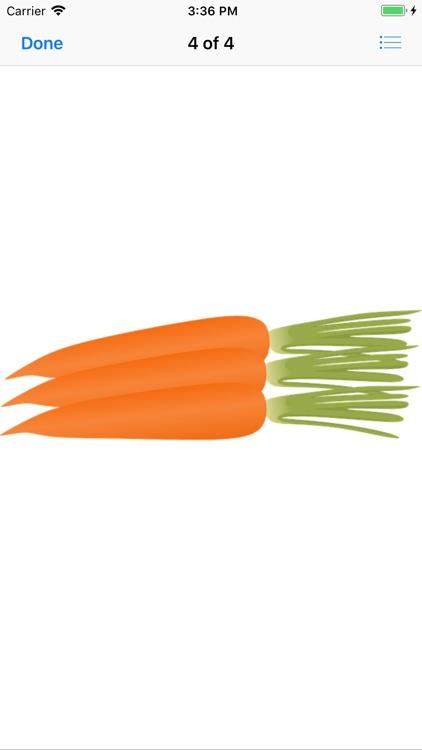 Crunchy Carrot Stickers screenshot-7
