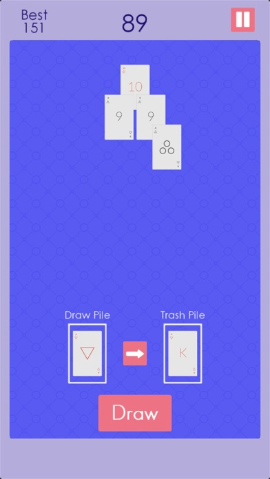 Endless Pyramid Solitaire screenshot 5