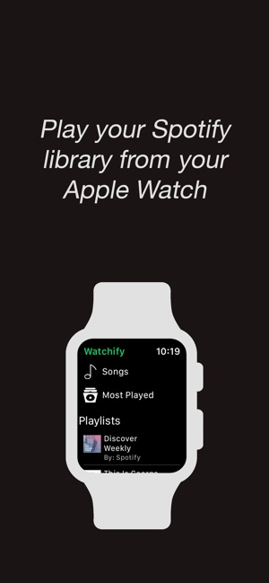 Watchify on the App Store