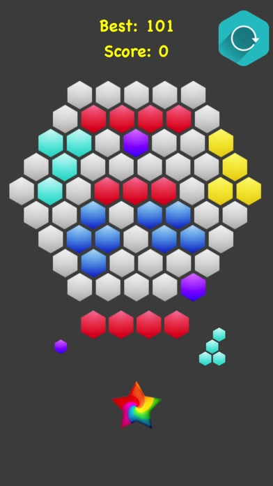 Hexagonal Merge screenshot 1