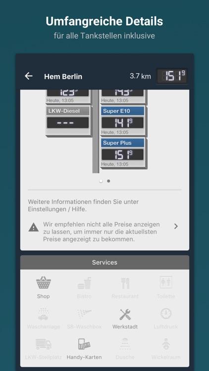 TankenApp mit Benzinpreistrend screenshot-4