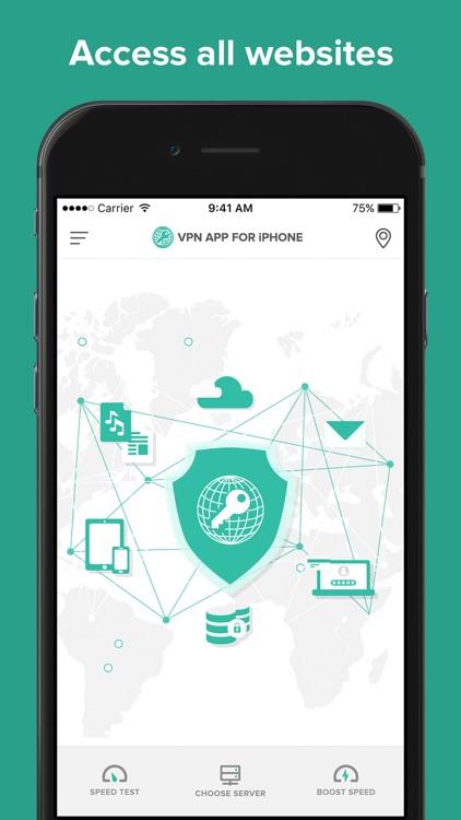 VPN Wifi Proxy Security Master screenshot-5