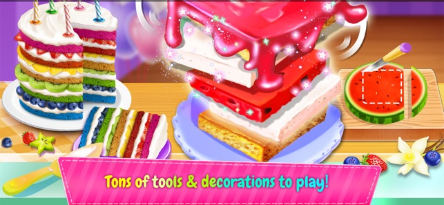 Birthday Cake Design Party 12 Cooking Girl Games Food Maker